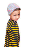 Little bully with toothpick Stock Images