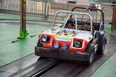 Bumper car Royalty Free Stock Photos