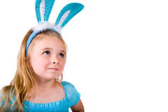Little bunny Girl Royalty Free Stock Image