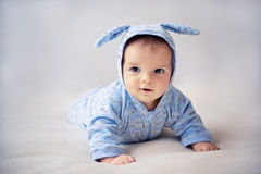 Little bunny newborn baby Stock Images