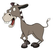 The little burro. Cartoon Stock Images