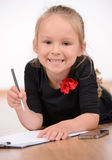 Little Business Lady Royalty Free Stock Photo