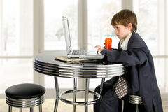 Little Business Man Stock Images