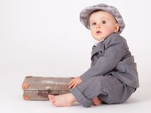 Little businessman Stock Images