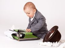 Free Little Businessman Royalty Free Stock Image - 21510216