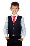 Little businessman Stock Image