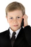 Little Businessman Royalty Free Stock Images