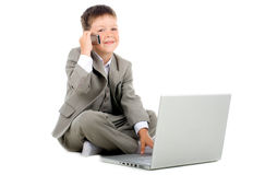 Little businessman Stock Photo