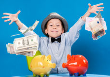 Little businessman Royalty Free Stock Image