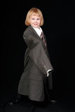 Little businesswoman  Stock Photos