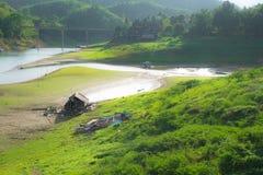 Little Cabin in Sangkhlaburi Stock Photography