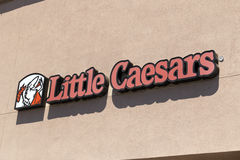 Little Caesars Pizza Fast Food Restaurant Stock Photography