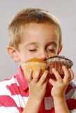 Little cakes smell Royalty Free Stock Images