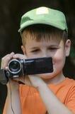 Little cameraman Royalty Free Stock Photos