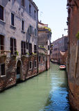 Little canal in Venice Royalty Free Stock Photography