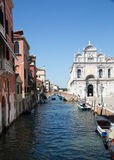 Little canal in Venice Royalty Free Stock Image