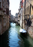 Little canal in Venice Royalty Free Stock Photos