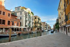 Little canal in Venice Stock Photography