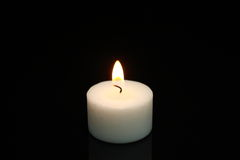 Little candle Stock Photography