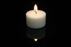 Little candle Stock Image