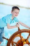 Little captain Stock Images