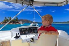 Little captain Stock Photos
