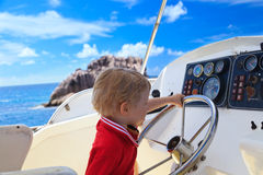 Little captain Royalty Free Stock Images