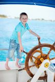 Little captain Royalty Free Stock Photos