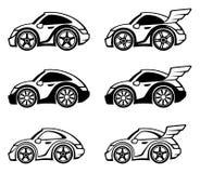 Little car. On a white background vector illustration