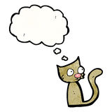 Little cartoon cat Royalty Free Stock Images
