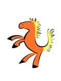 Little cartoon horse Royalty Free Stock Photo