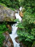 Little cascade near Ghermu - Annapurna circuit - Nepal Royalty Free Stock Photography