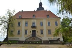 Little castle in the Eatern Part of Germany Royalty Free Stock Photos