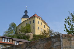 Little castle in the Eatern Part of Germany Royalty Free Stock Photo