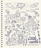 Little castles Stock Image