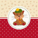 Little cat baby Royalty Free Stock Images