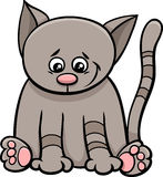 Little cat cartoon character Stock Photo