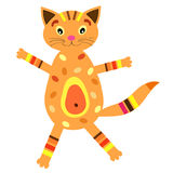 Little cat (vector version) Stock Images