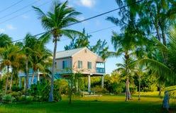 Little Cayman-House on Stilts stock images