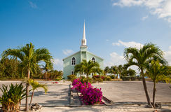 Little Cayman church Royalty Free Stock Image