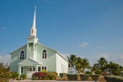 Little Cayman church Stock Photos