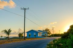 Little Cayman-On The Road Again stock images