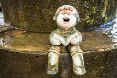 Little ceramic dolls Royalty Free Stock Photography