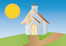 Little chapel Stock Image