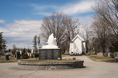 Little chapel in a cimetery Royalty Free Stock Photos