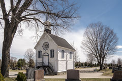 Little chapel in a cimetery Royalty Free Stock Image