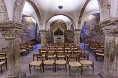 Little chapel interior Stock Photo