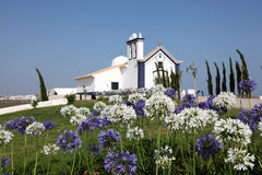Little chapel in Portugal Royalty Free Stock Photo