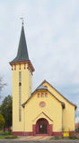 Little chapel in small village Royalty Free Stock Photos