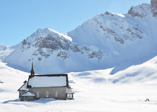 Chappel in Melchsee-Frutt, Switzerland Stock Images